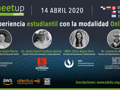 Gestión de la experiencia estudiantil con la modalidad online en la crisis del COVID19 en Latinoamérica